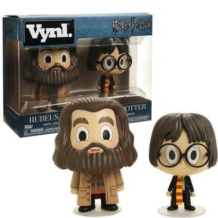 Harry Potter Vynl Rubeus Hargrid & Harry Potter
