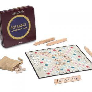 Nostalgia Edition ~ Scrabble Tin