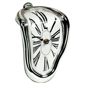 Time Warp Designer Melting Clock