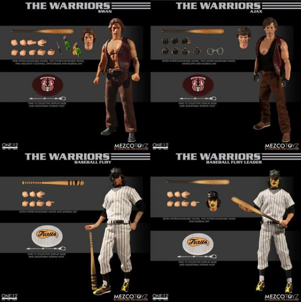 1:12 Scale The Warriors Collectors Box Set