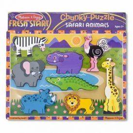 Melissa & Doug Chunky Puzzle ~ Safari