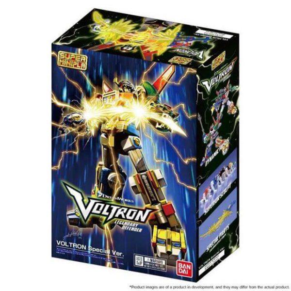 Voltron Super MiniPla Exclusive Model Kit Bandai