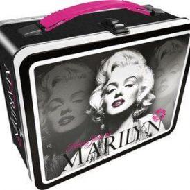 Marilyn Monroe B&W Tin Tote / Fun Box