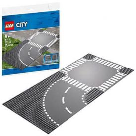 LEGO City Roads Curve and Crossroad 60237