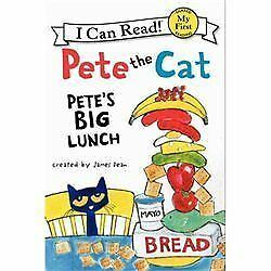 I.C.R. Pete the Cat - Pete's Big Lunch by James De