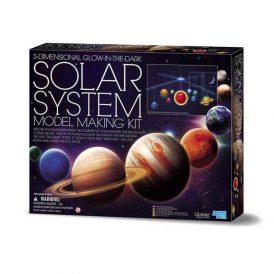 3D Glow in the Dark Solar System Model Making Scie