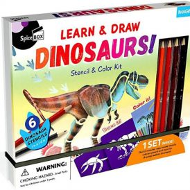 Learn & Draw Dinosaurs by Spice Box