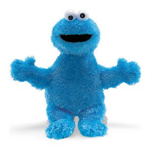 "Sesame Street 14"" Cookie Monster"
