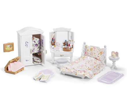 Calico Critters Girl's Bedroom