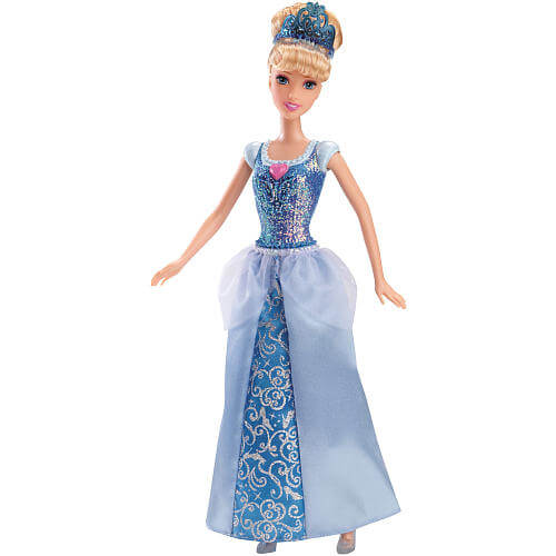 Disney Princess Sparkling Princess Doll Cinderella