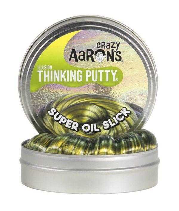"Crazy Aaron's Thinking Putty Super Oil Slick 4"""
