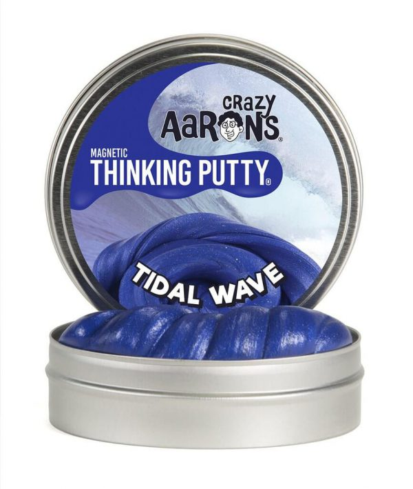 Crazy Aaron's Thinking Putty Magnetic Tidal Wave 4