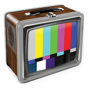 Vintage TV Tin Tote