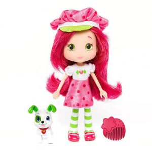 "6"" Strawberry Shortcake ~ SS w/ Pupcake"
