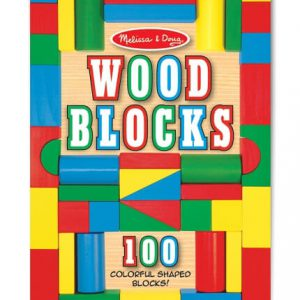 Melissa & Doug Wood Block Set