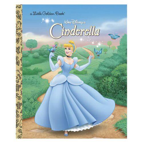 L.G.B. Cinderella (Disney) Little Golden Books