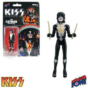 """Kiss Destroyer The Catman 3.75"""" Series 3 Action Fi"""