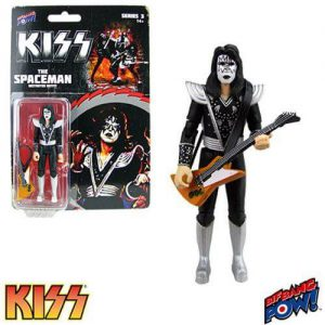 """Kiss Destroyer The Spaceman 3.75"""" Action Figure"""