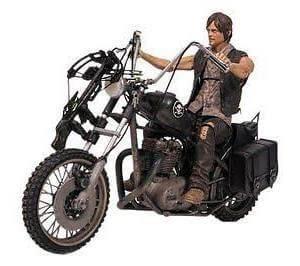 The Walking Dead Daryl Dixon w/ Chopper Deluxe Set