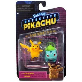 Pokemon Detective Pikachu & Bulbasaur Mini Figures