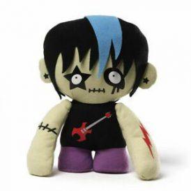 "GUND Zombie Rock Star Plush 8"""
