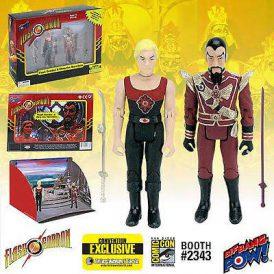 Flash Gordon and Ming Hawk City Action Figure Set