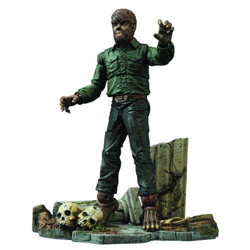 Universal Select Wolfman Action Figure