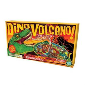 Dinosaur Volcano Board Game by House of Marbles