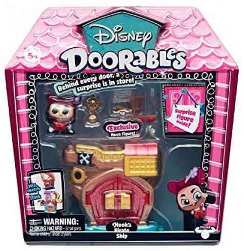 Disney Doorables Hook's Pirate Ship Mini Play Set