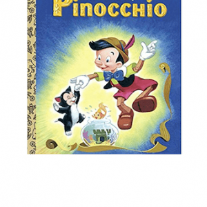 L.G.B. Pinocchio (Disney) Little Golden Books