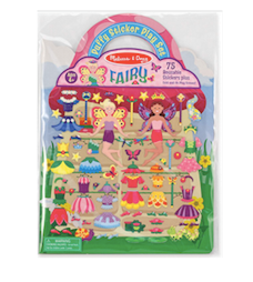 Puffy Sticker Play Set Fairy