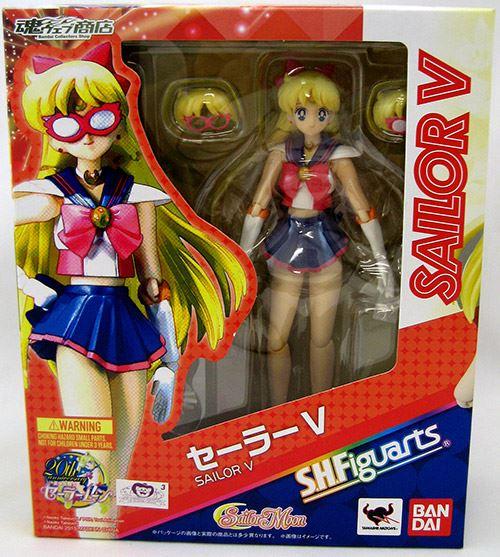 """Sailor  Moon 6"""" Action Figure S>H> Figures - Sailor V"""