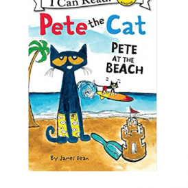 I.C.R. Pete the Cat - Pete at the Beach by James D