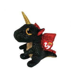Ty Beanie Boos - Grindal the Unicorn Dragon