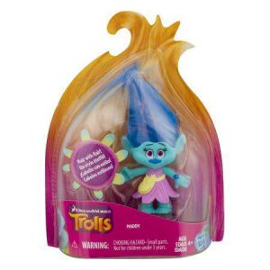 Trolls Maddy Collectible Figure with Printed Hair