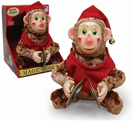 Classic Magic Cymbal Monkey Toy