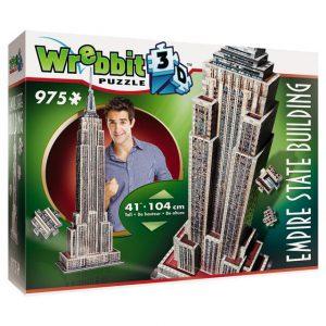Wrebbit 3D Puzzle Empire State Building 975 pcs.