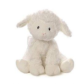 Lena Little Blessing Keywind Musical Lamb Baby Gun