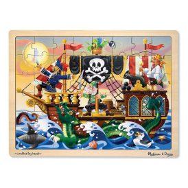 48 pcs. Pirate Adventure Wooden Puzzle Melissa & D