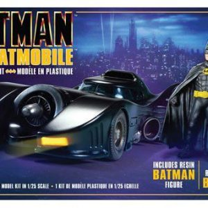 1989 Batmobile with Resin Figure Model Kit - Batma