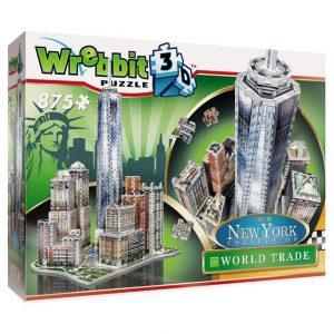 Wrebbit 3D Puzzle New York World Trade 875 pcs.