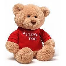 """GUND I Love You 12"""" Teddy Bear"""