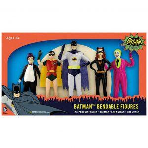 Batman Bendable Figures Classic TV Series by NJCroce