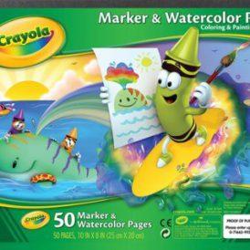 Crayola Marker & Watercolor Pad