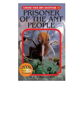 C.Y.O.A. Prisoner of the Ant People #10