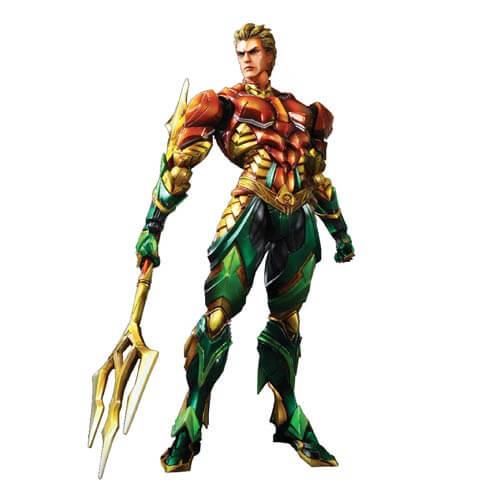 Aquaman Play Arts Kai Variant Action Figure