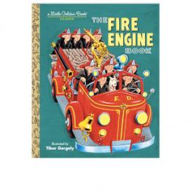 L.G.B. The Fire Engine Book Little Golden Books