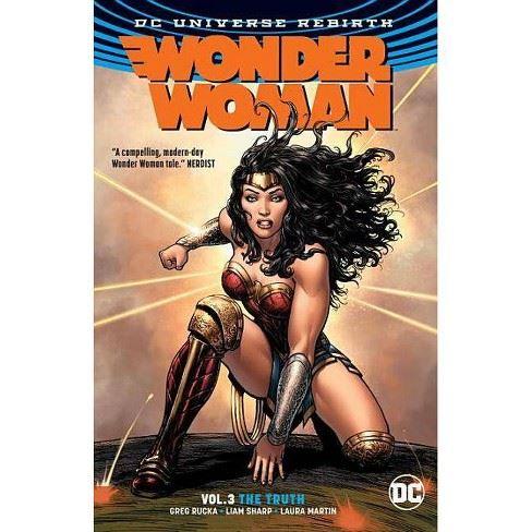Wonder Woman Vol. 3 The Truth DC Universe Rebirth