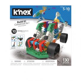 K'Nex 10 Model Building Set 130 pcs. Creative STEM