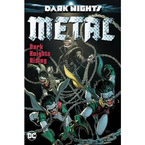 DC Dark Nights Metal Dark Nights Rising (Hardcover)